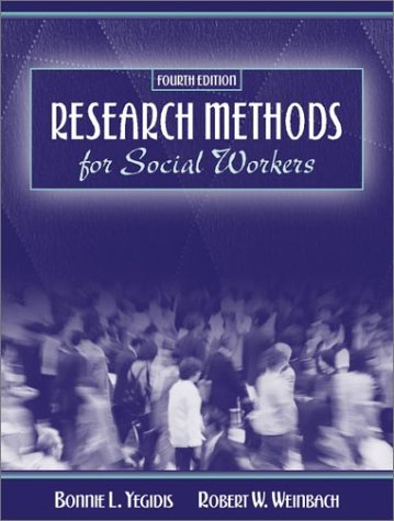 9780205332335: Research Methods for Social Workers (4th Edition)