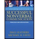 9780205333097: Successful Nonverbal Communication: Principles and Applications
