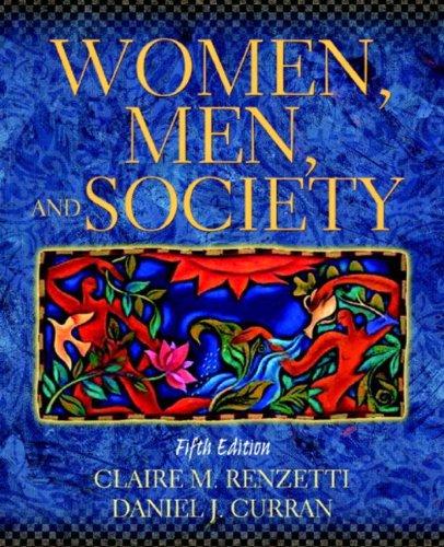 9780205335336: Women, Men, and Society