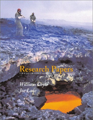 9780205335572: Research Papers (12th Edition)