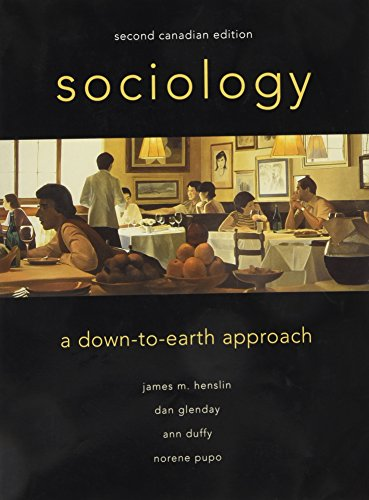 9780205336050: Sociology: A Down-to-Earth Approach, Canadian Edition