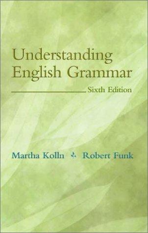 9780205336227: Understanding English Grammar (6th Edition)
