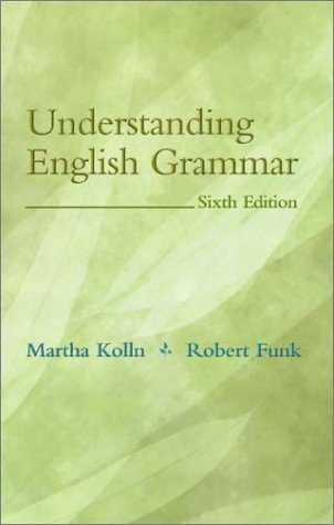 9780205336227: Understanding English Grammar (6th Edition)