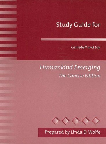 Study Guide for Campbell & Loy Humankind