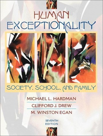 9780205337507: Human Exceptionality: Society, School, and Family (7th Edition)
