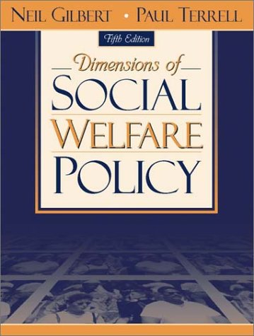 9780205337637: Dimensions of Social Welfare Policy (5th Edition)