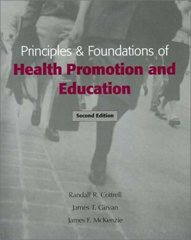 9780205340668: Principles and Foundations of Health Promotion and Education (2nd Edition)