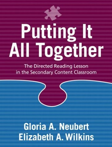 9780205343843: Putting It All Together: The Directed Reading Lesson in the Secondary Content Classroom
