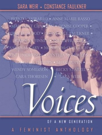 9780205344147: Voices of a New Generation: A Feminist Anthology