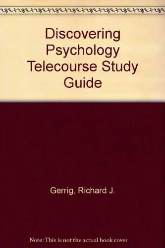 9780205344550: Discovering Psychology: Telecoure Student Study Guide