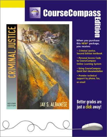9780205349708: Criminal Justice (CourseCompass Edition) (2nd Edition)