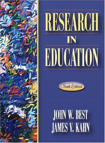 9780205349975: Research in Education (9th Edition)