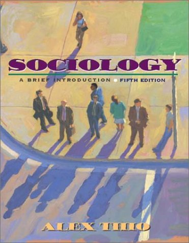 9780205350995: Sociology: A Brief Introduction (5th Edition)
