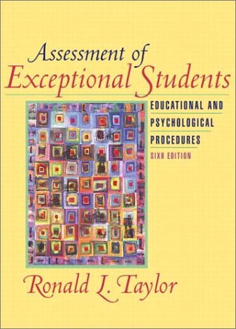 9780205351077: Assessment of Exceptional Students: Educational and Psychological Procedures (6th Edition)