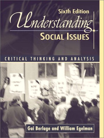 9780205351084: Understanding Social Issues: Critical Analysis and Thinking (6th Edition)