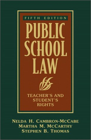 9780205352166: Public School Law: Teacher's and Student's Rights (5th Edition)