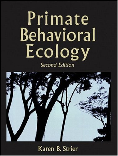 9780205352364: Primate Behavioral Ecology (2nd Edition)