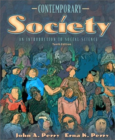 9780205352630: Contemporary Society: An Introduction to Social Science (10th Edition)