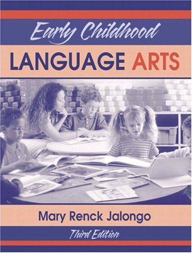 9780205355426: Early Childhood Language Arts (3rd Edition)