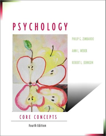 9780205356607: Psychology: Core Concepts (4th Edition)