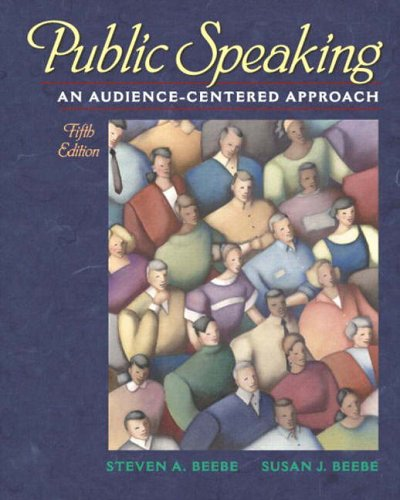 9780205358632: Public Speaking: An Audience-Centered Approach