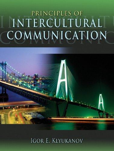 9780205358649: Principles of Intercultural Communication