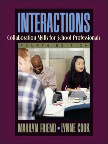 9780205359035: Interactions: Collaboration Skills for School Professionals (4th Edition)