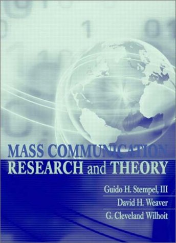 9780205359233: Mass Communication Research and Theory