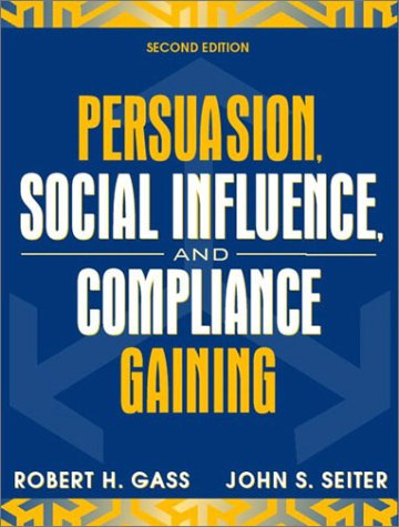 9780205359523: Persuasion, Social Influence, and Compliance Gaining (2nd Edition)