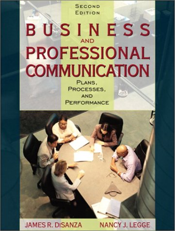 9780205359547: Business and Professional Communication: Plans, Processes, and Performance (2nd Edition)