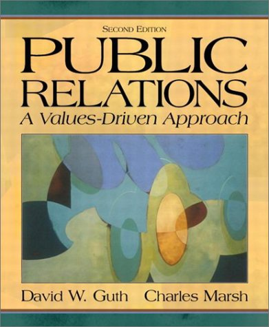 public relations a valuesdriven approach 4th edition