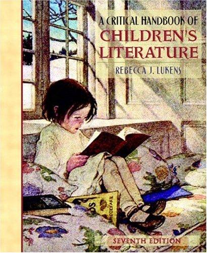 9780205360130: A Critical Handbook of Children's Literature (7th Edition)