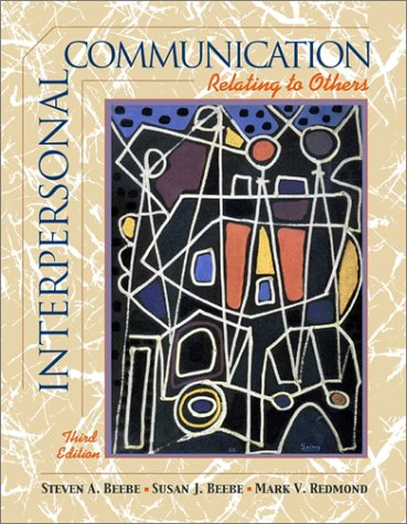 9780205360444: Interpersonal Communication: Relating to Others (with Interactive Companion CD-ROM) (3rd Edition)