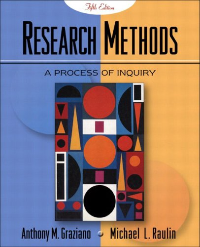 9780205360659: Research Methods: A Process of Inquiry with Student Tutorial CD-ROM, Fifth Edition
