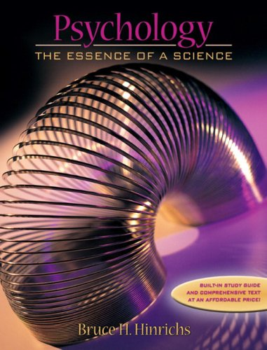 9780205360956: Psychology: The Essence of a Science