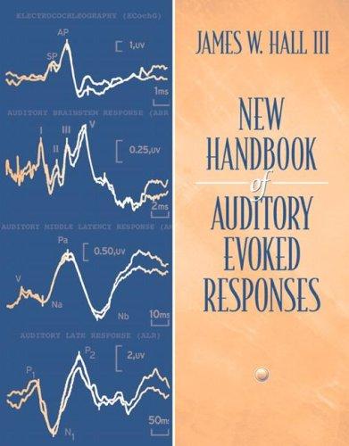 9780205361045: New Handbook for Auditory Evoked Responses