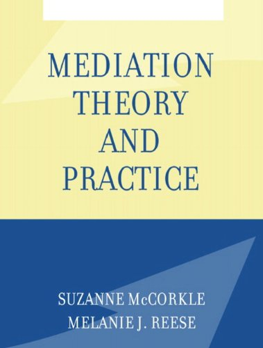 9780205361083: Mediation Theory and Practice