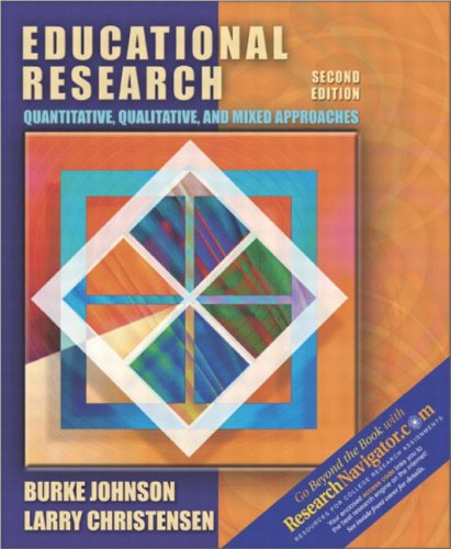 9780205361267: Educational Research: Quantitative, Qualitative, and Mixed Approaches, Research Edition, Second Edition