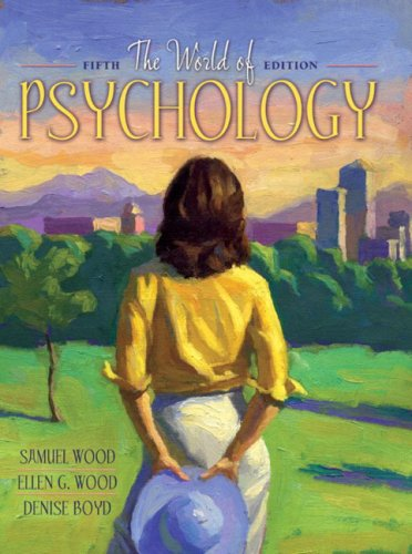 9780205361373: World of Psychology, The (5th Edition)