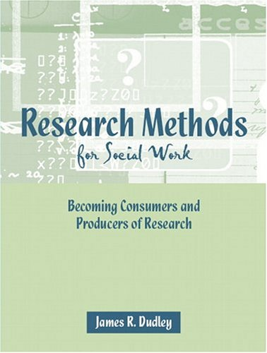 9780205365296: Research Methods for Social Work