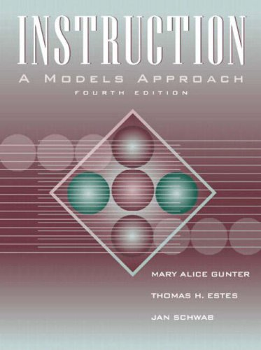 9780205367757: Instruction: A Models Approach (4th Edition)