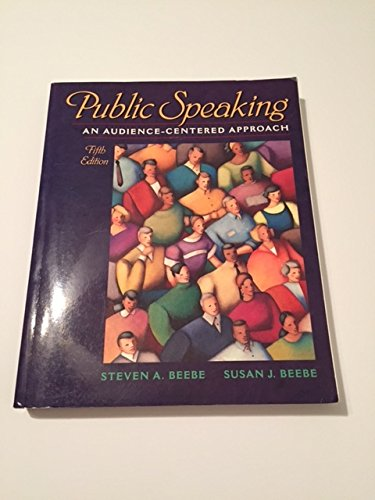 9780205367818: Public Speaking An Audience-Centered Approach (FIFTH EDITION)