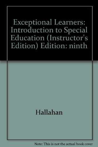 9780205368204: Exceptional Learners (Introduction to Special Education)