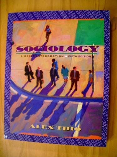 9780205368303: Sociology: A Brief Introduction