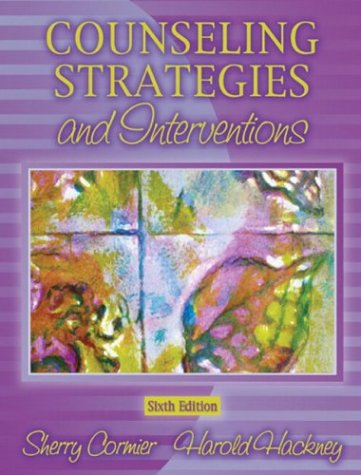 9780205370528: Counseling Strategies and Interventions