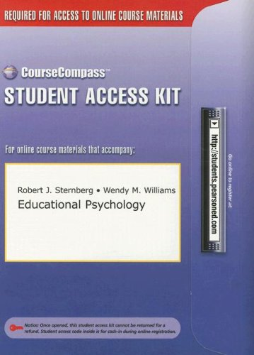 9780205375318: Educational Psychology Student Access Kit (CourseCompass)