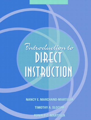 9780205377619: Introduction to Direct Instruction