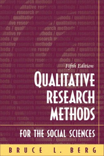9780205379057: Qualitative Research Methods for the Social Sciences, Fifth Edition