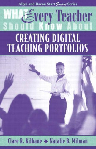 9780205380503: What Every Teacher Should Know About Creating Digital Teaching Portfolios
