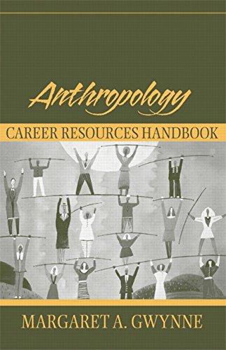9780205380756: Anthropology Career Resources Handbook